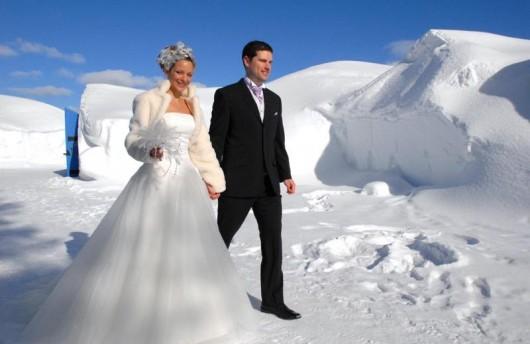 Wedding at Kakslauttanen Igloo Village