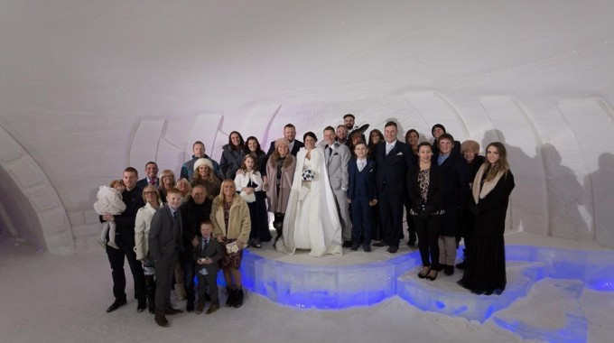 Get Married In The Ice Hotel Canada Our Gold Package