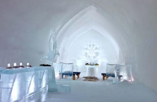 Kakslauttanen Ice Chapel