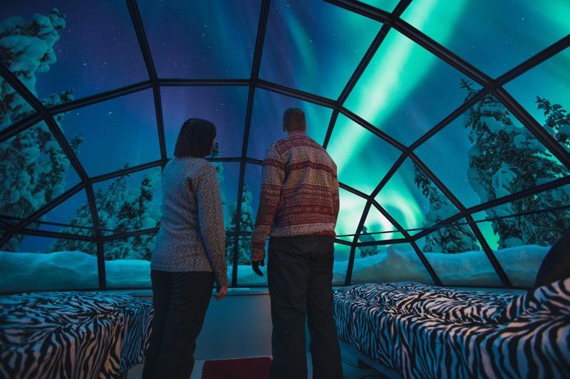 Marry In Lapland Glass Igloo Village And See The Northern Lights