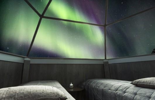 Finland glass igloo