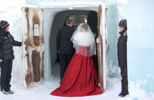 Marry In The Ice Hotel In Sweden Or Canada