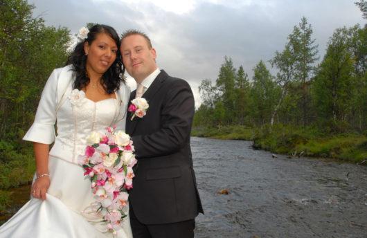 Summer wedding Kakslauttanen