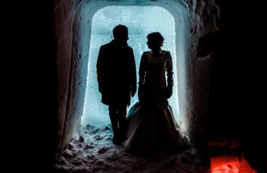 Arctic Wedding Snow Hotel