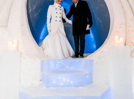 Arctic Ice Hotel Wedding