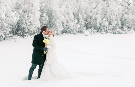 Wedding at Arctic Snow Hotel